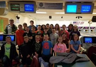 Students Bowling Trip